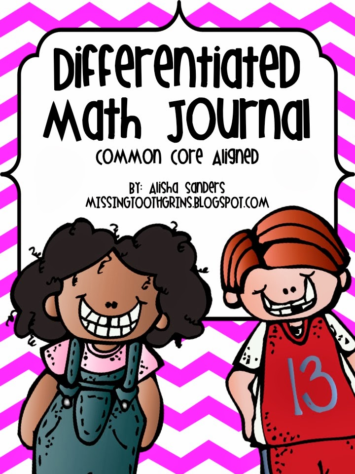 http://www.teacherspayteachers.com/Product/Differentiated-Math-Journal-982039