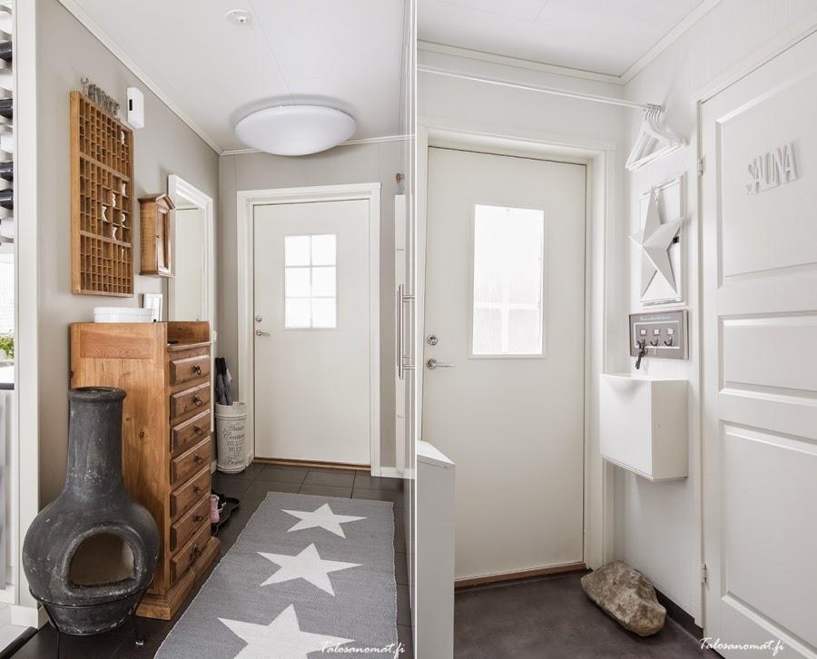 wnętrza, wystrój wnętrz, home decor, dom mieszkanie, urządzanie, dekoracje, gwiazda, gwiazdki, motyw, star, szarości, biel, białe wnętrza, przedpokój