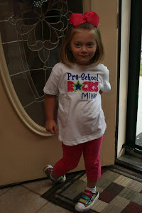 Millie's First Day of Preschool