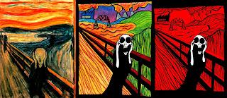 el grito de edvard munch-punkrock anarquia y tinta china-puente de la boca