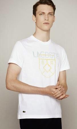 camiseta Lacoste coleção Copa do Mundo
