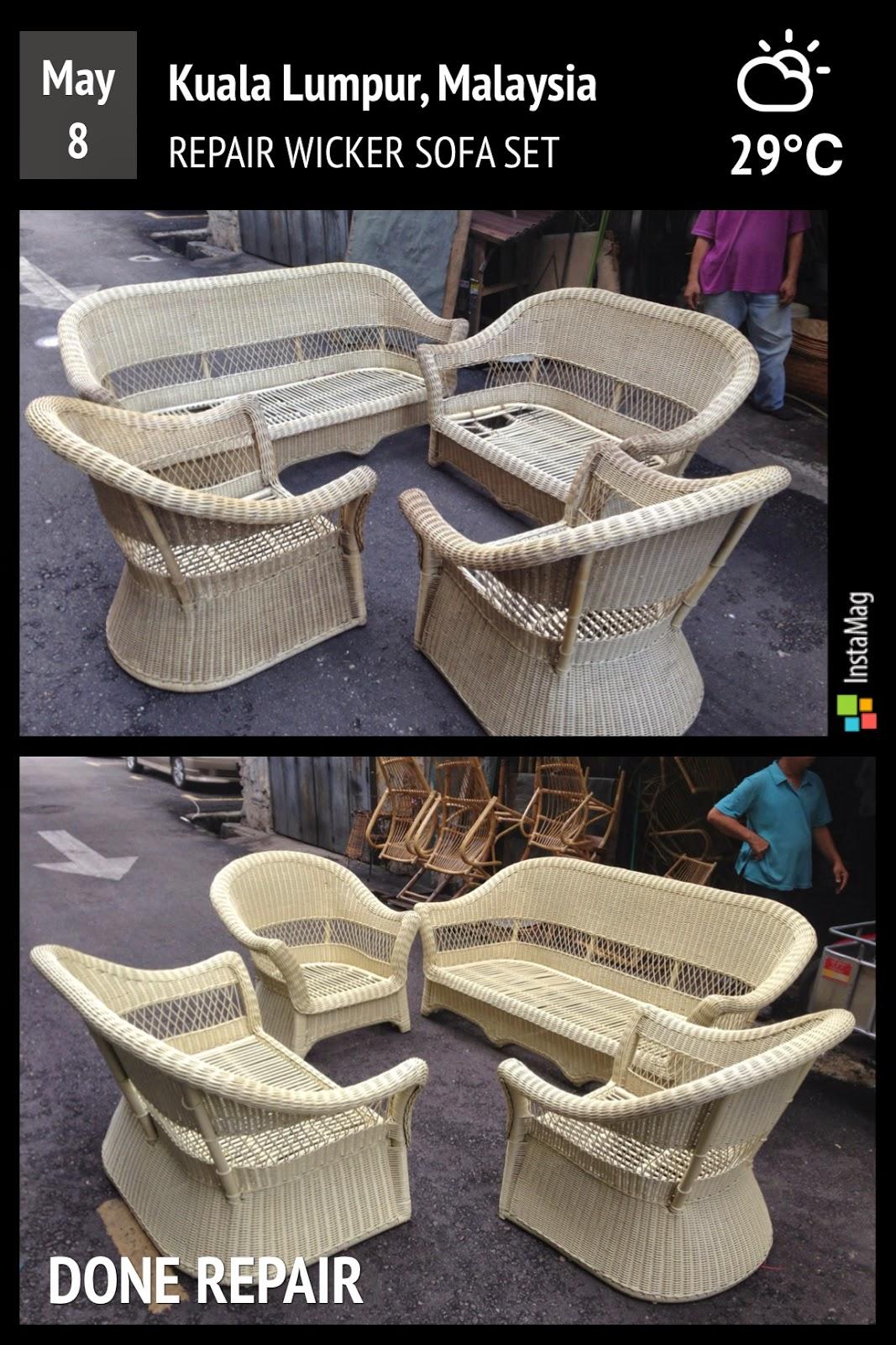 Repair Rattan Furniture  Rattan Sofa  Cane Wicker Chair  Wood chair in  Malaysia. Repair Rattan Furniture  Rattan Sofa  Cane Wicker Chair  Wood