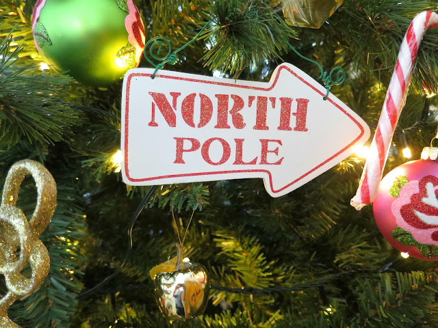 Christmas Tree Festive Decoration North Pole