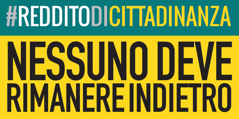 #RedditoDiCittadinanza