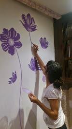 Murales decorativos (pintados a mano)