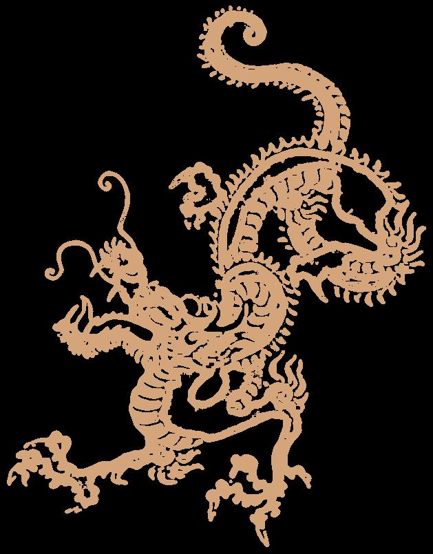 龍・辰年・中国(年賀状)
