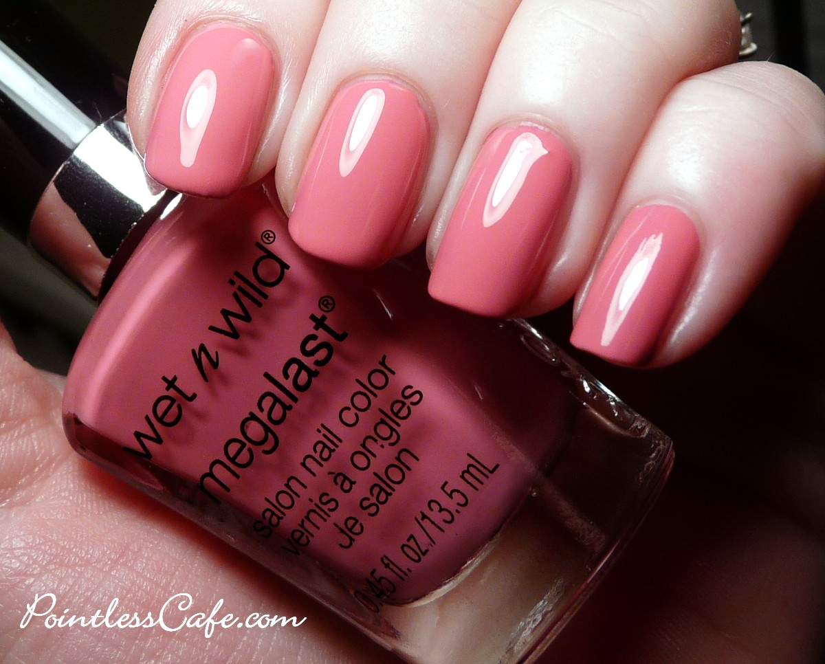 Wet N Wild Megalast New Collection Swatches Pic Heavy Salon Nail Color Candylicious Candy Licious