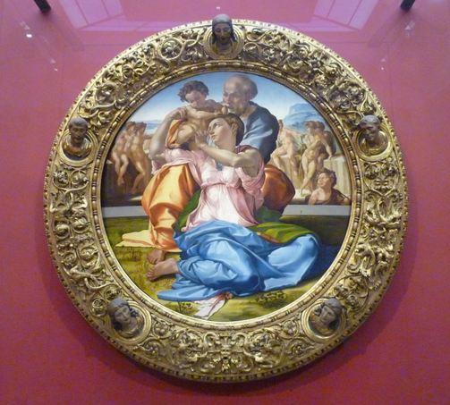 la sagrada familia miguel angel: