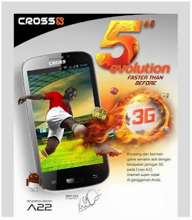 Harga Terbaru dan Spesifikasi Cross A22