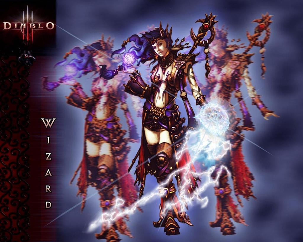 Diablo HD & Widescreen Wallpaper 0.746631849436328