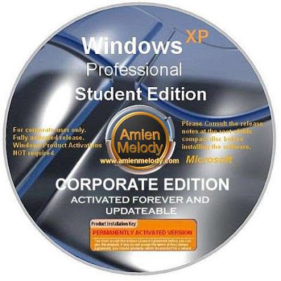 Windows XP SP3 Corporate Student Edition