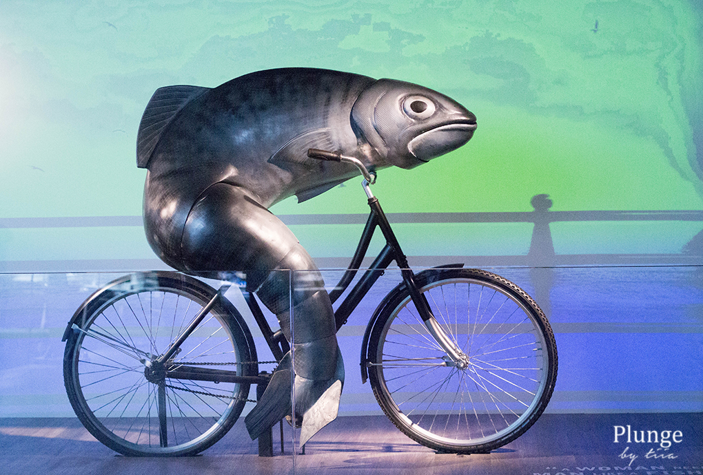 Biking fish