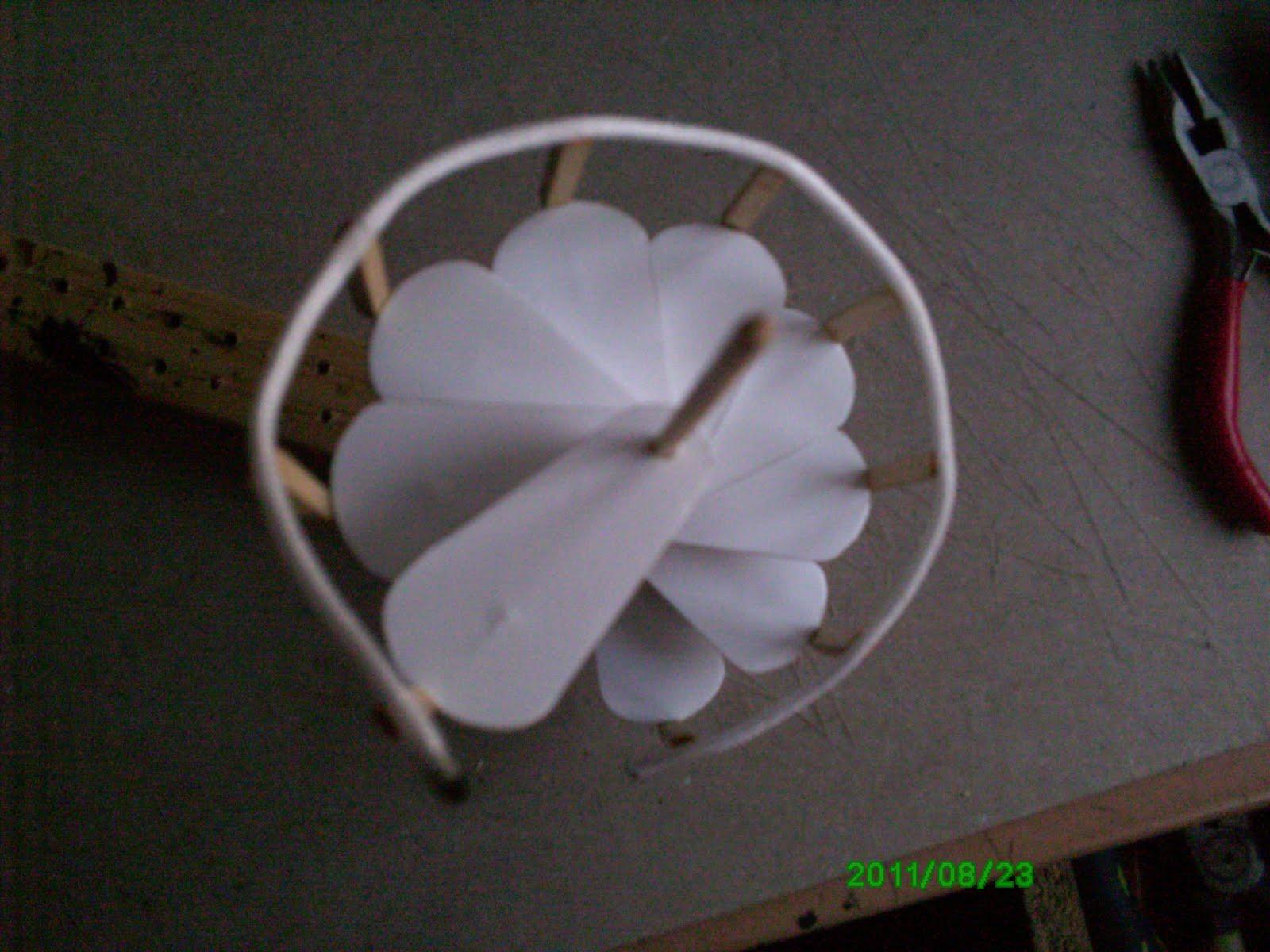 El mundo de las manualidades y la artesan a construyendo for Como hacer una escalera caracol metalica