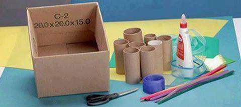 Proyecto de reciclaje educativo Como reciclar cartn y hacer