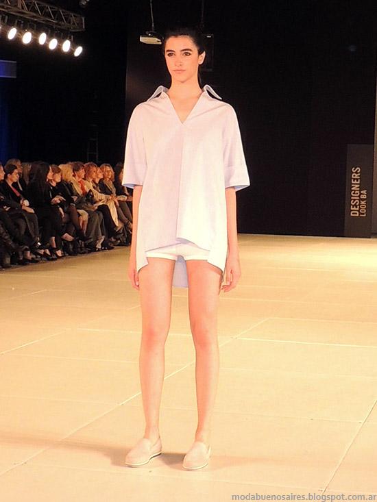 Zito primavera verano 2015. Moda casual chic primavera verano 2015 en la pasarela del Designers Look BA primavera verano 2015.