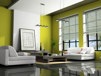 salas color verde