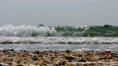 Адриатическое море с острова Лидо by TripBY