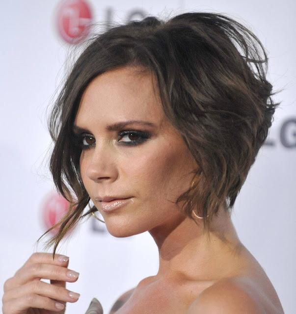 Celebrity hairstyles Victoria Posh Beckhams