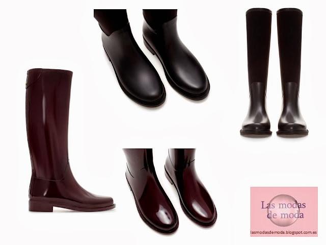 Botas de agua de Zara 2013