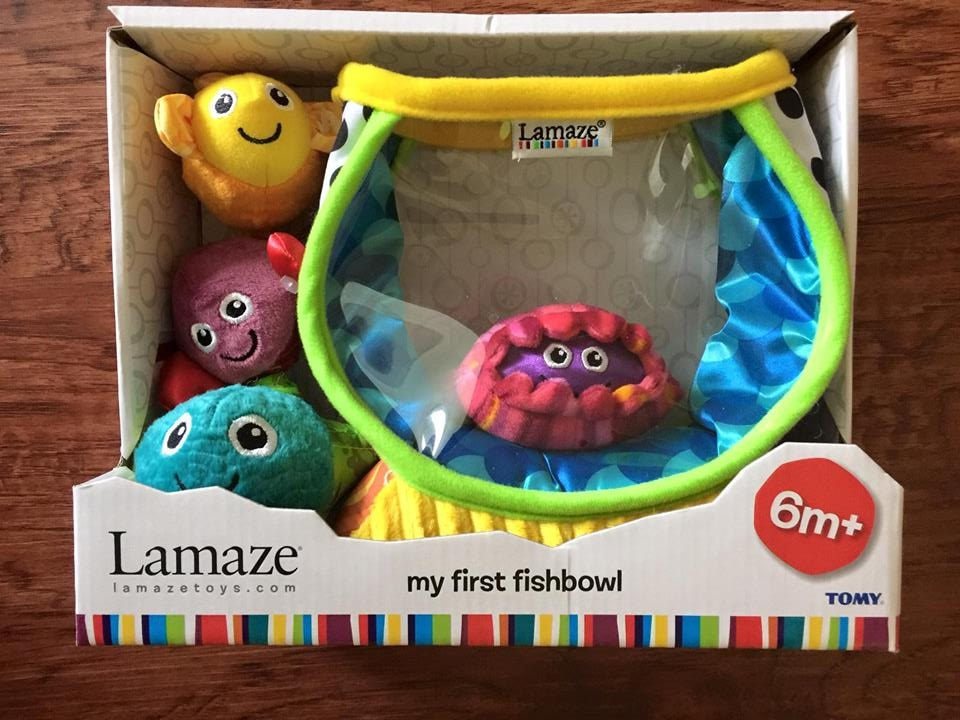 A Sampling Bee: Lamaze/Tomy My First Fishbowl Toy Review