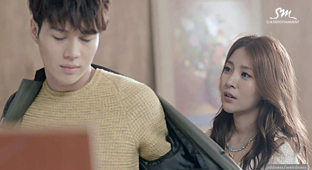 BoA Disturbance mv screencap feat. Taemin 2