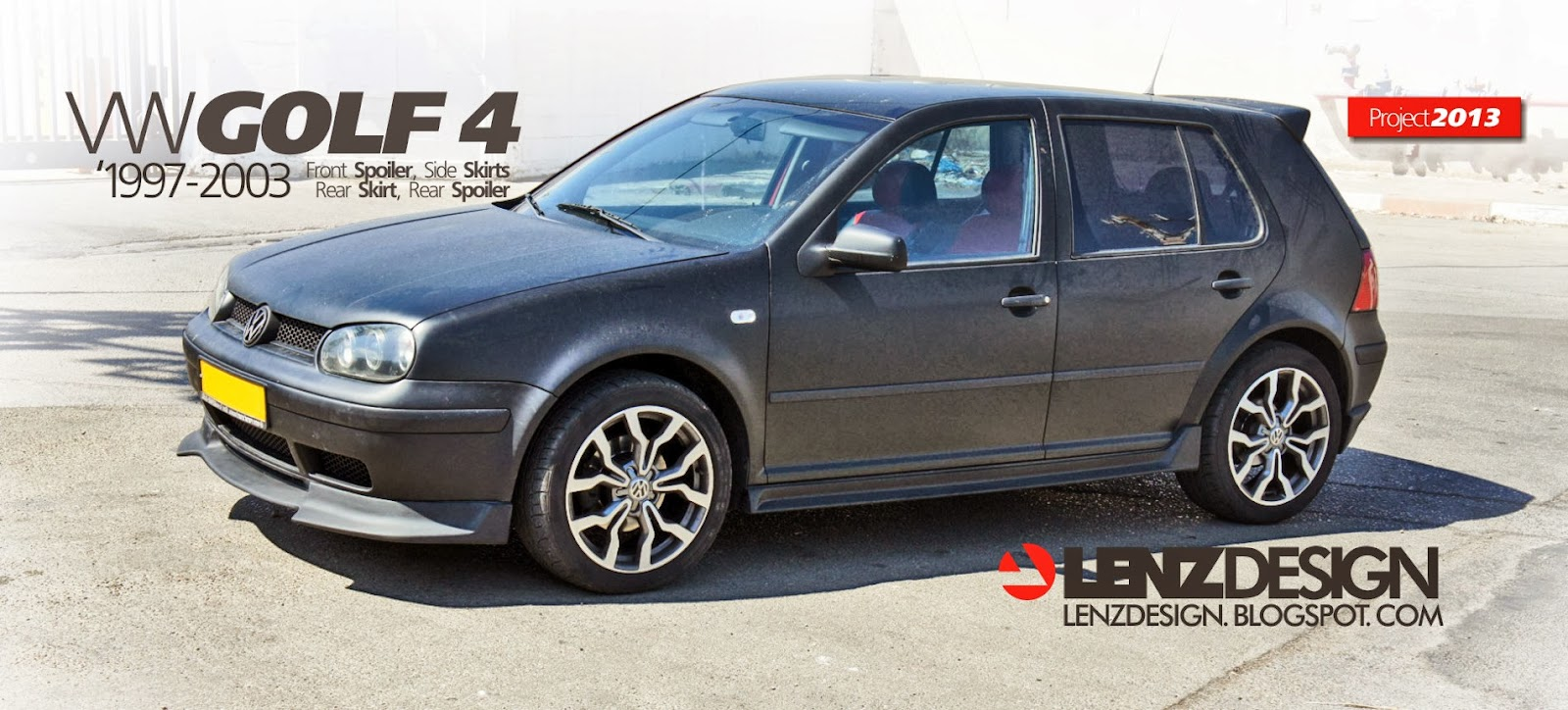 vw golf 4 tuning lenzdesign auto. Black Bedroom Furniture Sets. Home Design Ideas