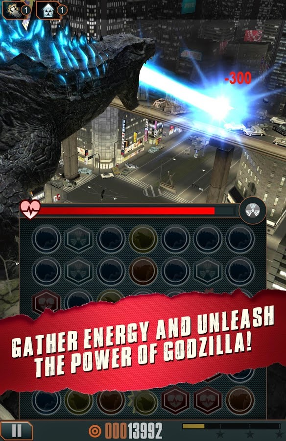 Godzilla Smash3 android