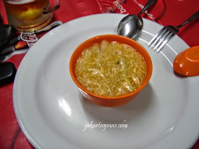 Sop asparragus kepiting