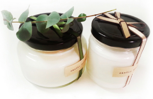 Soy Candle 150 mL (Cotton Wick) / Rose