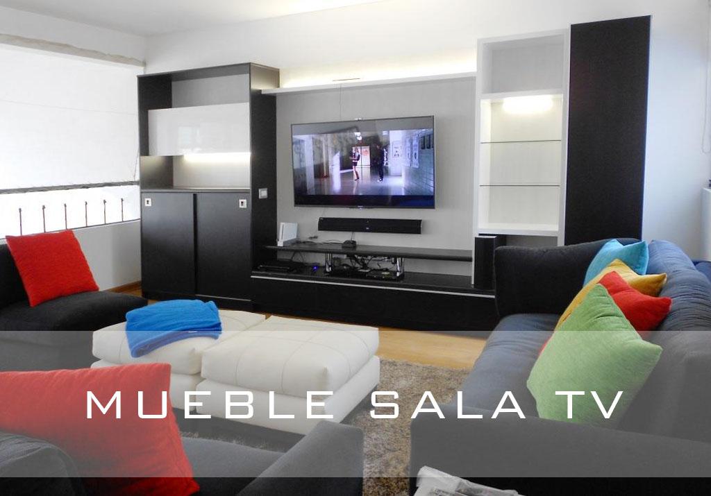 Mueble sala tv for Muebles para sala de tv