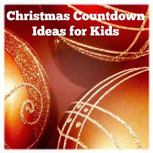 Christmas Countdown - secular and religious Advent activity calendars