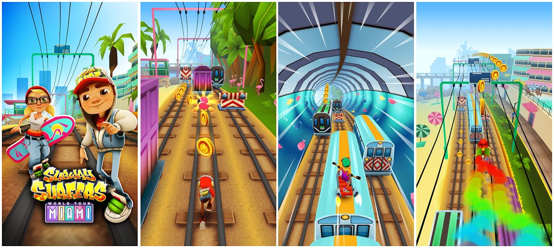 Subway Surfers Miami Download with unlimited coins hack , Subway