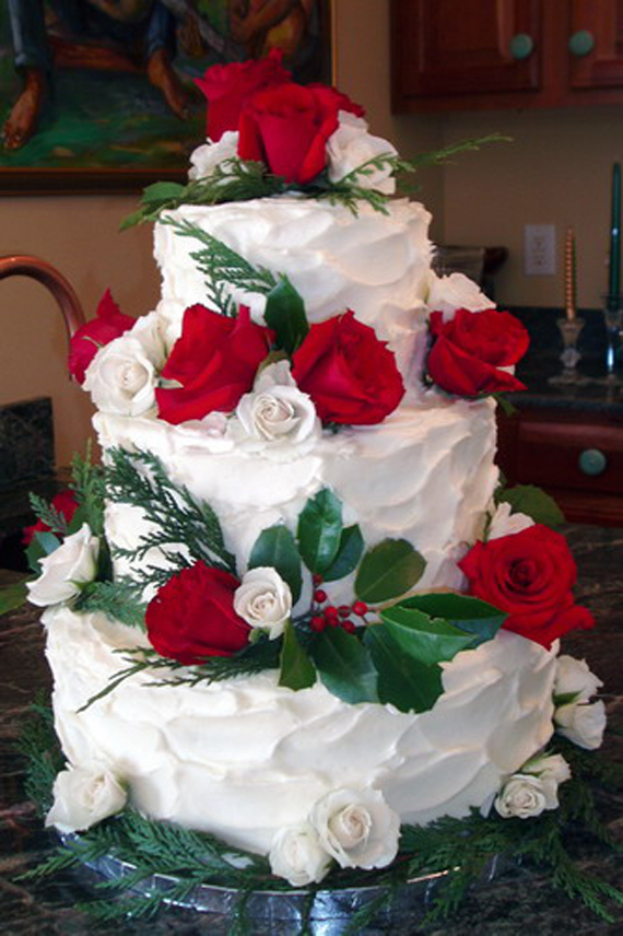 Wedding Inspiration Center Sacred Wedding Cake Decorations With Christmas Theme