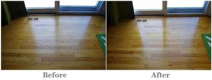before my floors are dull and after using bona hardwood floor cleaner and bona hardwood floor polish my floors look clean and shiny