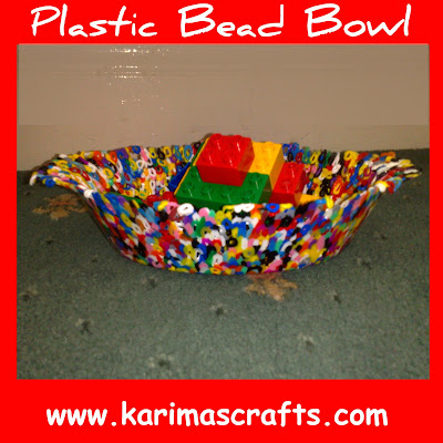 plastic bead bowl tutorial muslim blog