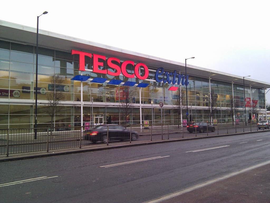 Supermercados en Inglaterra
