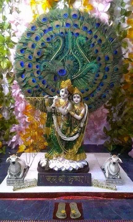 lovely radhe-krishna
