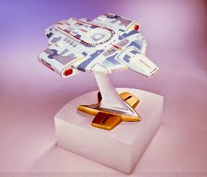 Star Trek Playmates Prototype Defiant