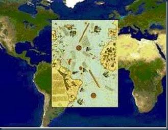 Mapa-de-Piri-Reis-area-que-muestra-las-costas-suramericanas-y-africanas