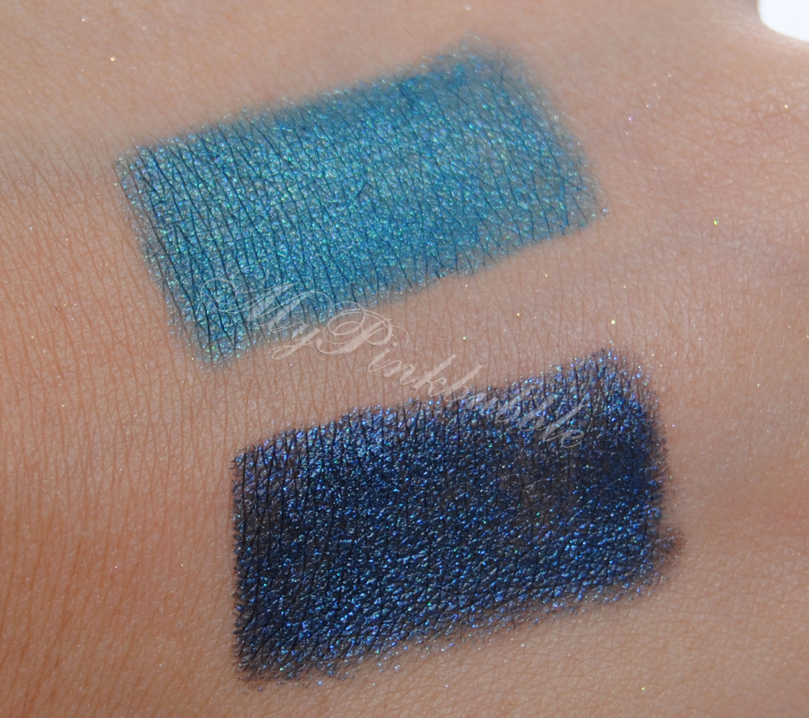 Ten Image Eternity shadow Forest Y Petrol swatch