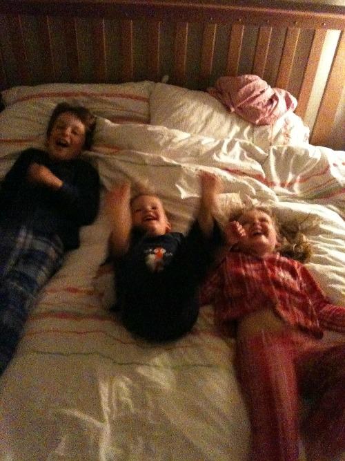 bedtime antics