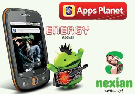 S Nexian Energy A850, Harga S Nexian Energy A850, Spesifikasi S Nexian Energy A850