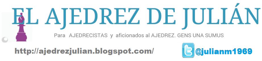EL AJEDREZ DE JULIÁN
