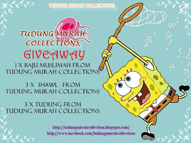 Tudung Murah Collections GIVEAWAY