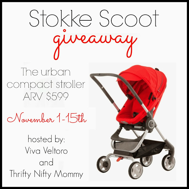 stokke baby compact stroller giveaway