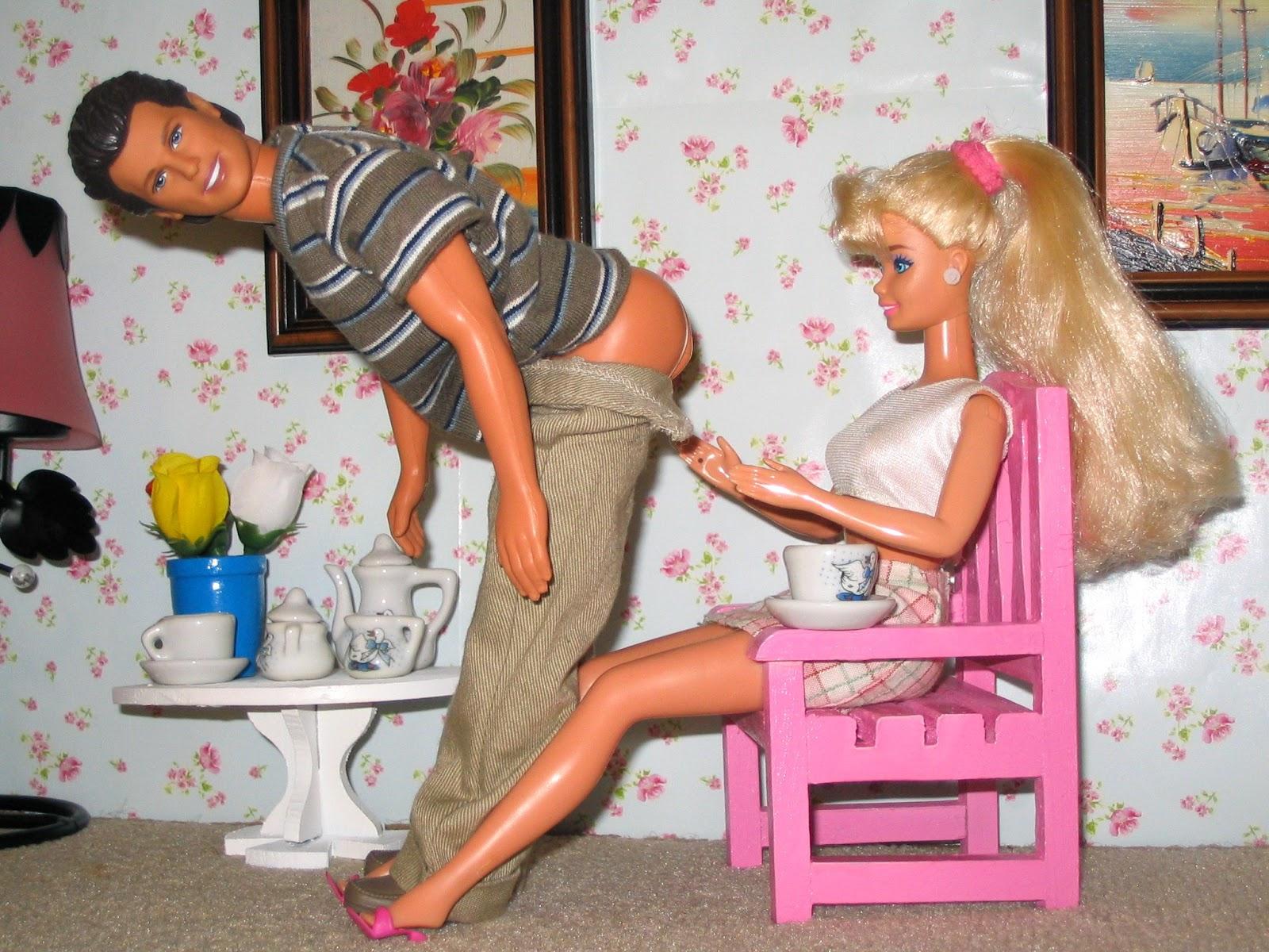 Трахают кукол барби 17 фотография