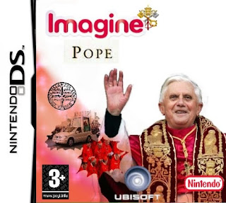Pope Game Nintendo DS Cover