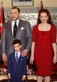 La famille royale marocaine