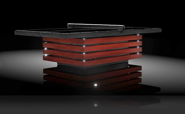 Luxurious Premier Custom Made Table Tennis Tables From