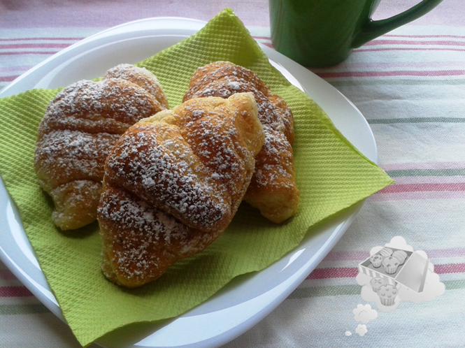 Cómo hacer mini croissants